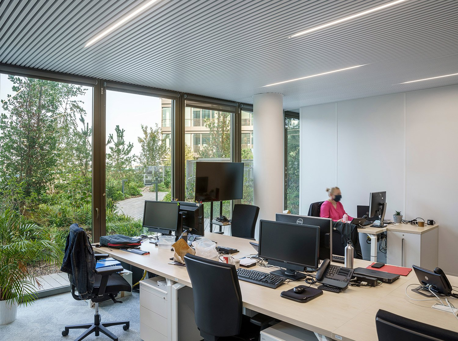 Light, air, and vegetation contributes to wellbeing of the municipal workers of Lille © Javier Callejas Sevilla