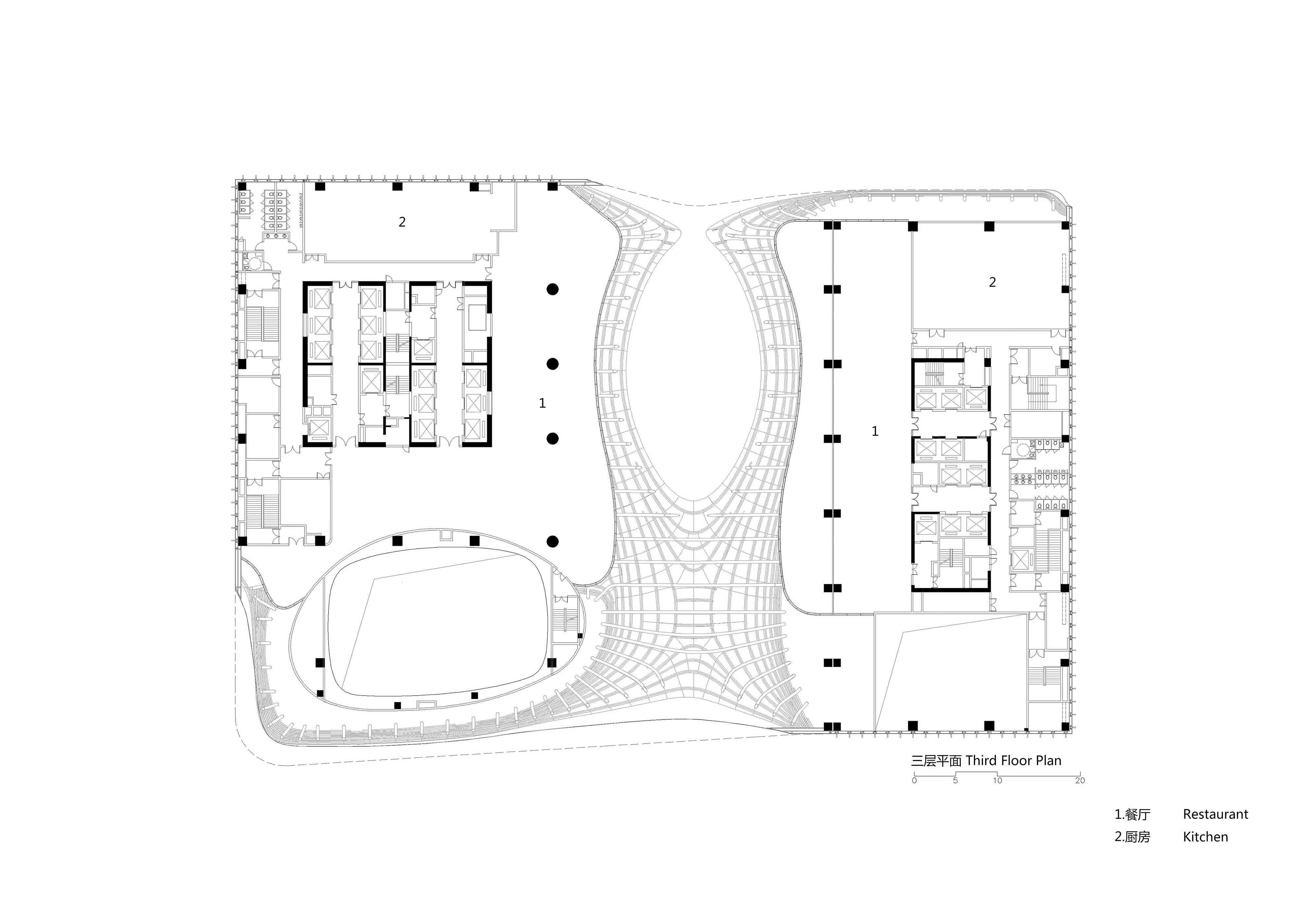 Three floor plane Zhubo Design CO., LTD.}
