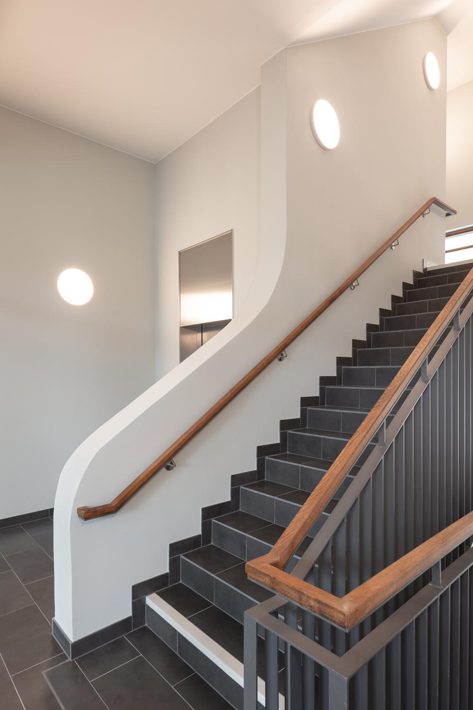 Design detail lobby stairs Klemens Renner