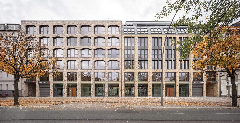Streetview office buildings Seestrasse 66-67 in Berlin Klemens Renner
