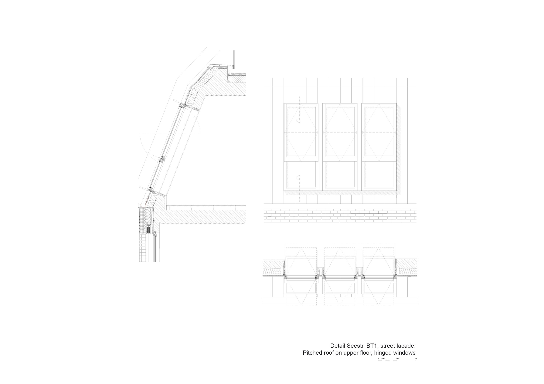 Detail staggered floor building 1 TCHOBAN VOSS Architekten}
