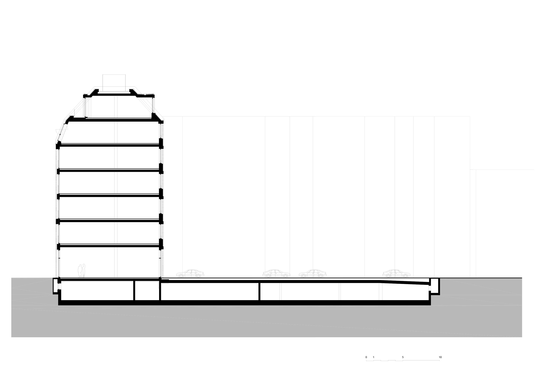 Section building 1 TCHOBAN VOSS Architekten}