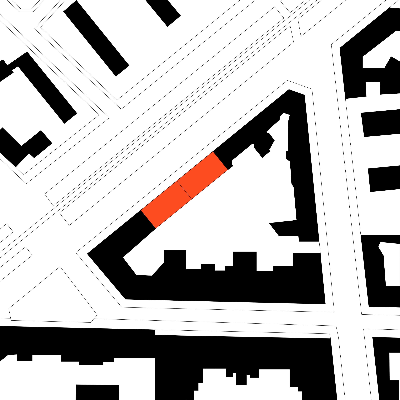 Site plan Seestrasse 66 - 67 TCHOBAN VOSS Architekten}