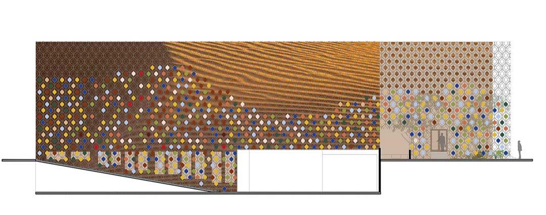 AtlasPeintures - South facade laa - lorenaalessioarchitetti