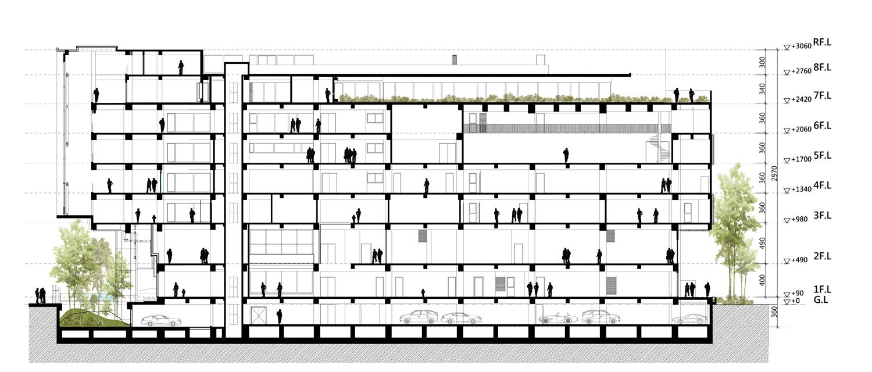 Southwest section Chain10 Architecture & Interior Design Institute}