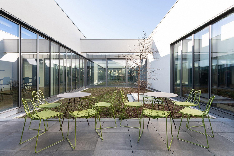 Zamasport,  Il giardino sospeso al primo piano dell'headquarter Mario Frusca