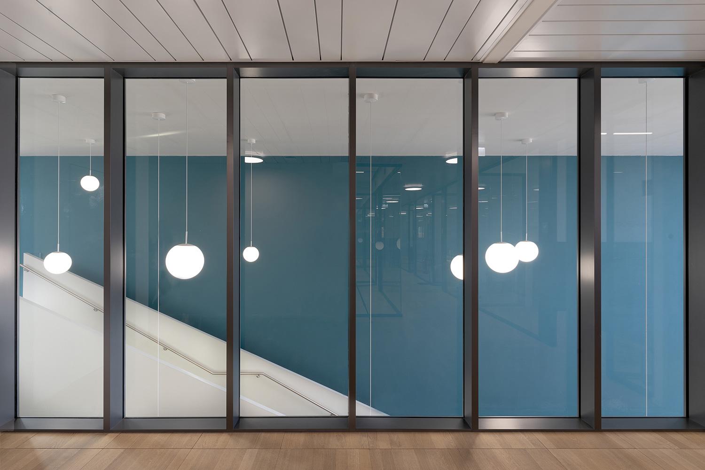 Zamasport interno primo piano zona uffici Mario Frusca