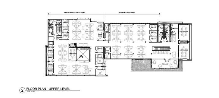 Floor Plan - Upper Level The Architect}