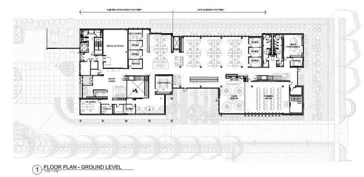 Floor Plan - Ground Level The Architect}