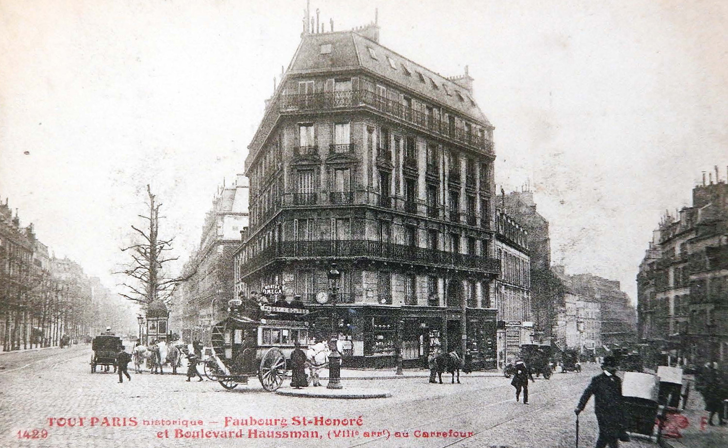 Historical photo of 175 Haussmann from 1900. ©DR}