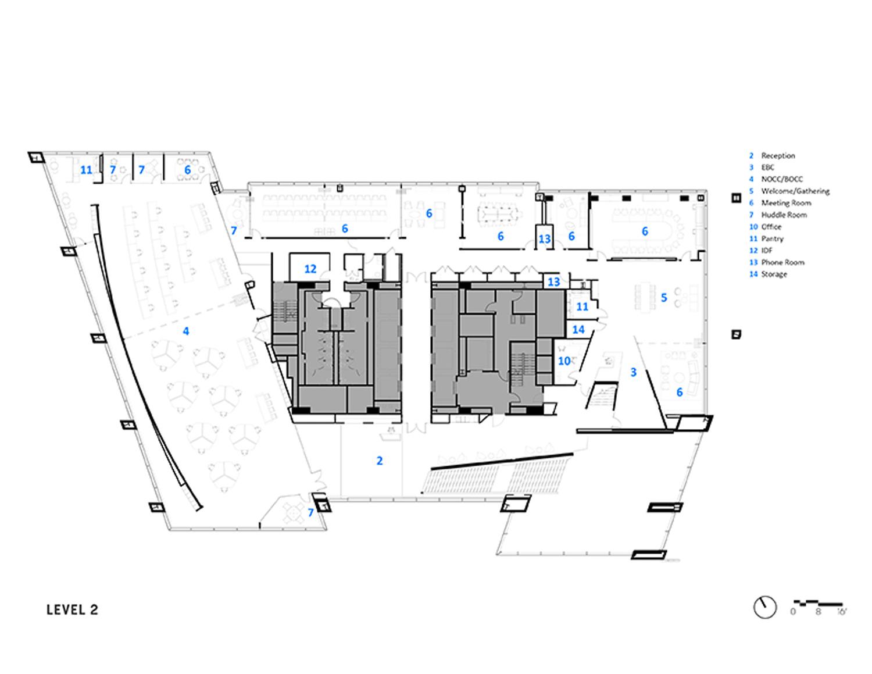 Floor Plan Courtesy of Sasaki}
