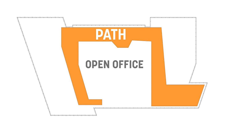AkaMile (path) plan diagram Courtesy of Sasaki}