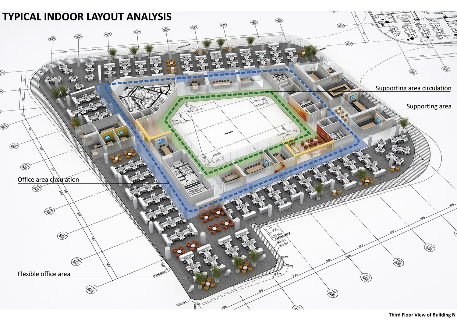 Typical Indoor Layout Analysis AECOM}