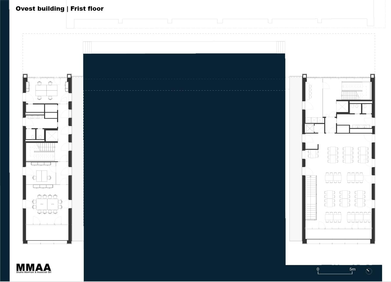 Ovest Building - Frist Floor MMAA}