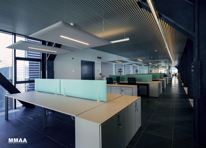 Ovest Building - interior Roberto Buratta