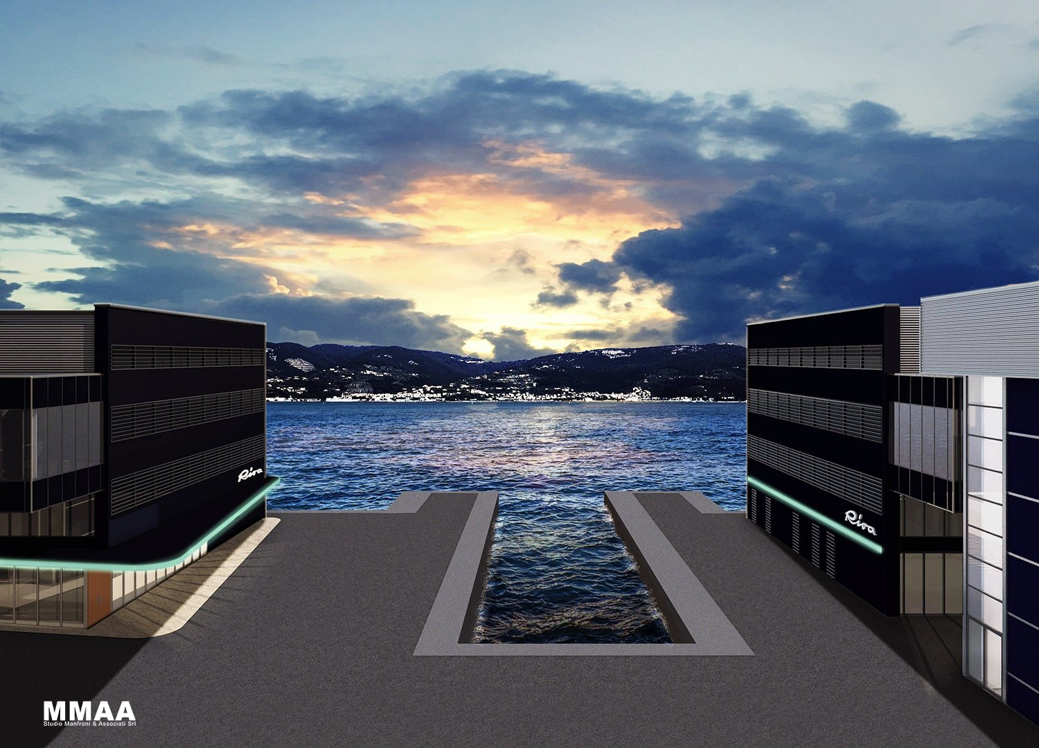 Dock's central view MMAA}