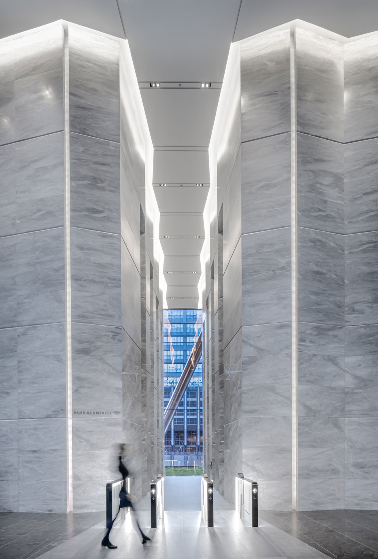 Elevator Lobby Vestibule Looking West Nick Ulivieri Photography