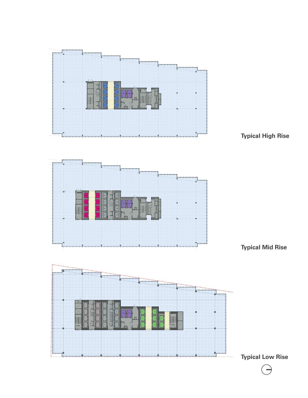 Typical Floor Plans Goettsch Partners}