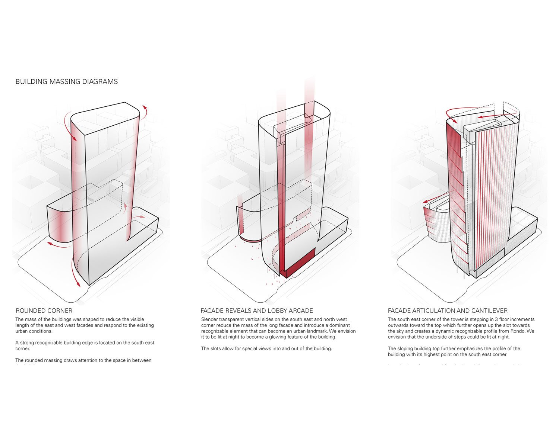 Building Massing Diagrams Goettsch Partners}