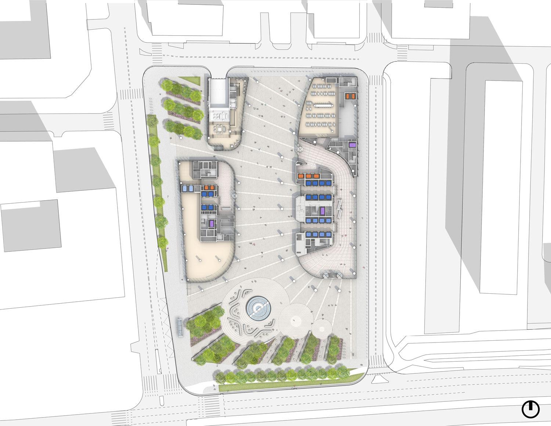 Ground Floor Plan Goettsch Partners}