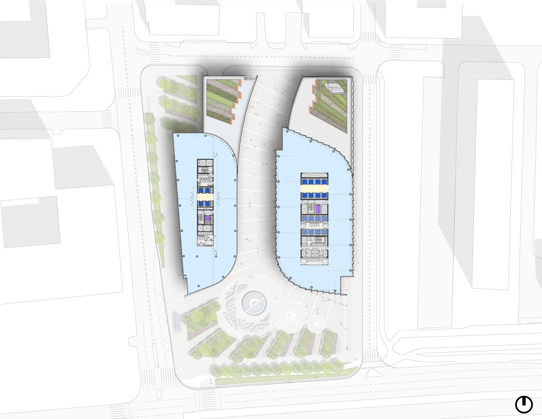 Typical High-Rise Floor Plans Goettsch Partners}
