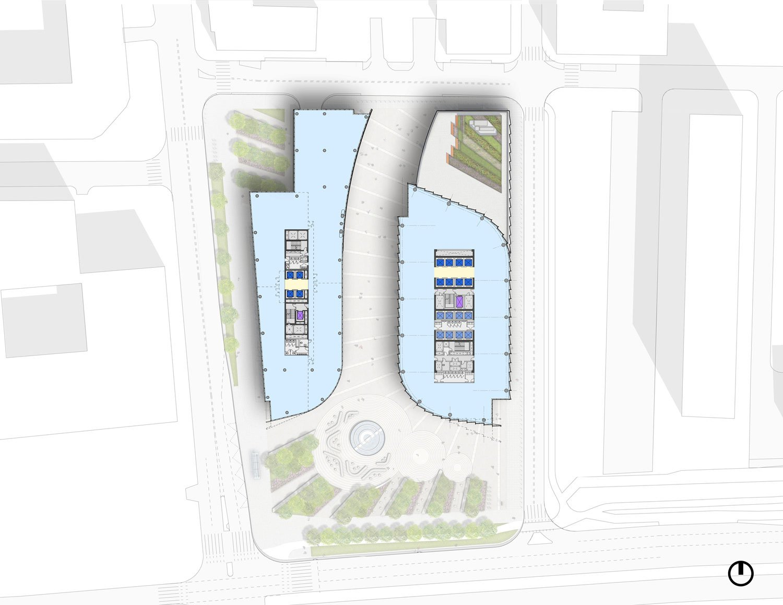 Typical Low-Rise Floor Plans Goettsch Partners}