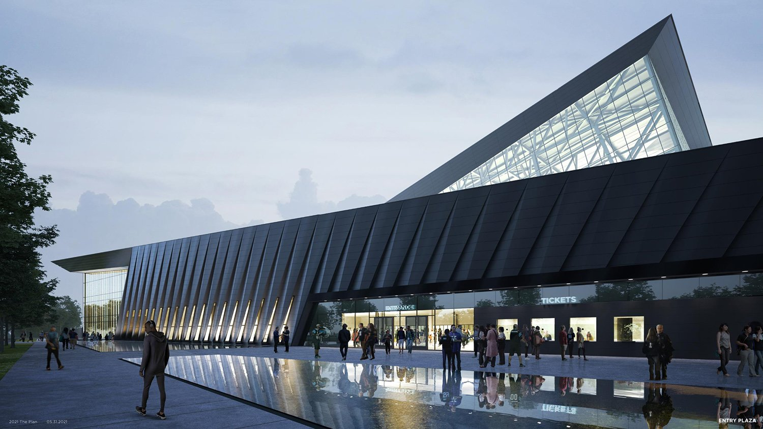 ENTRY PLAZA POPULOUS}