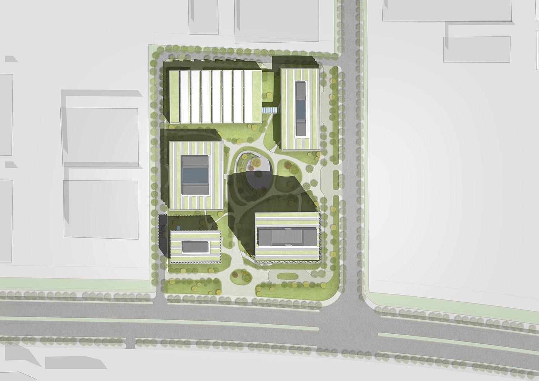 masterplan Atelier Ping Jiang / EID Arch}