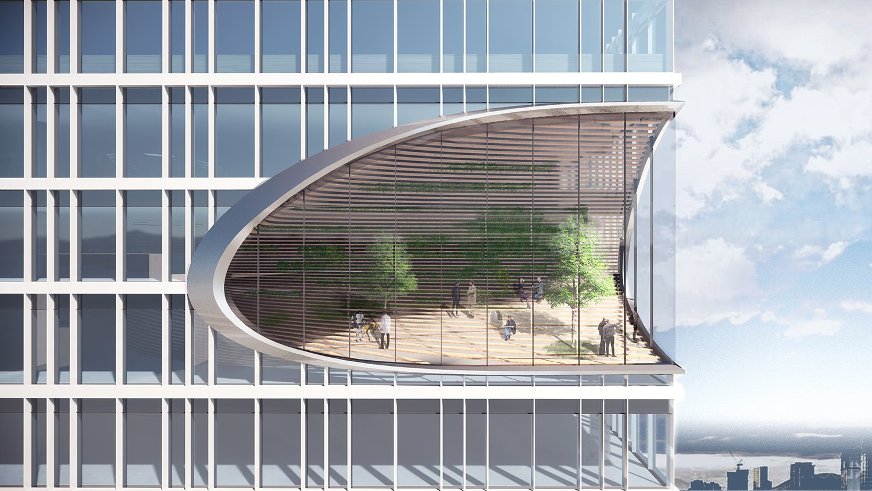 Sky atrium Atelier Ping Jiang / EID Arch