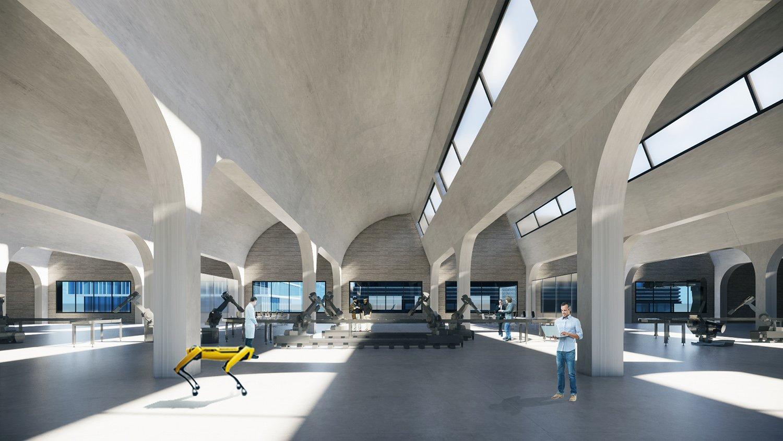 Robotics laboratory Atelier Ping Jiang / EID Arch
