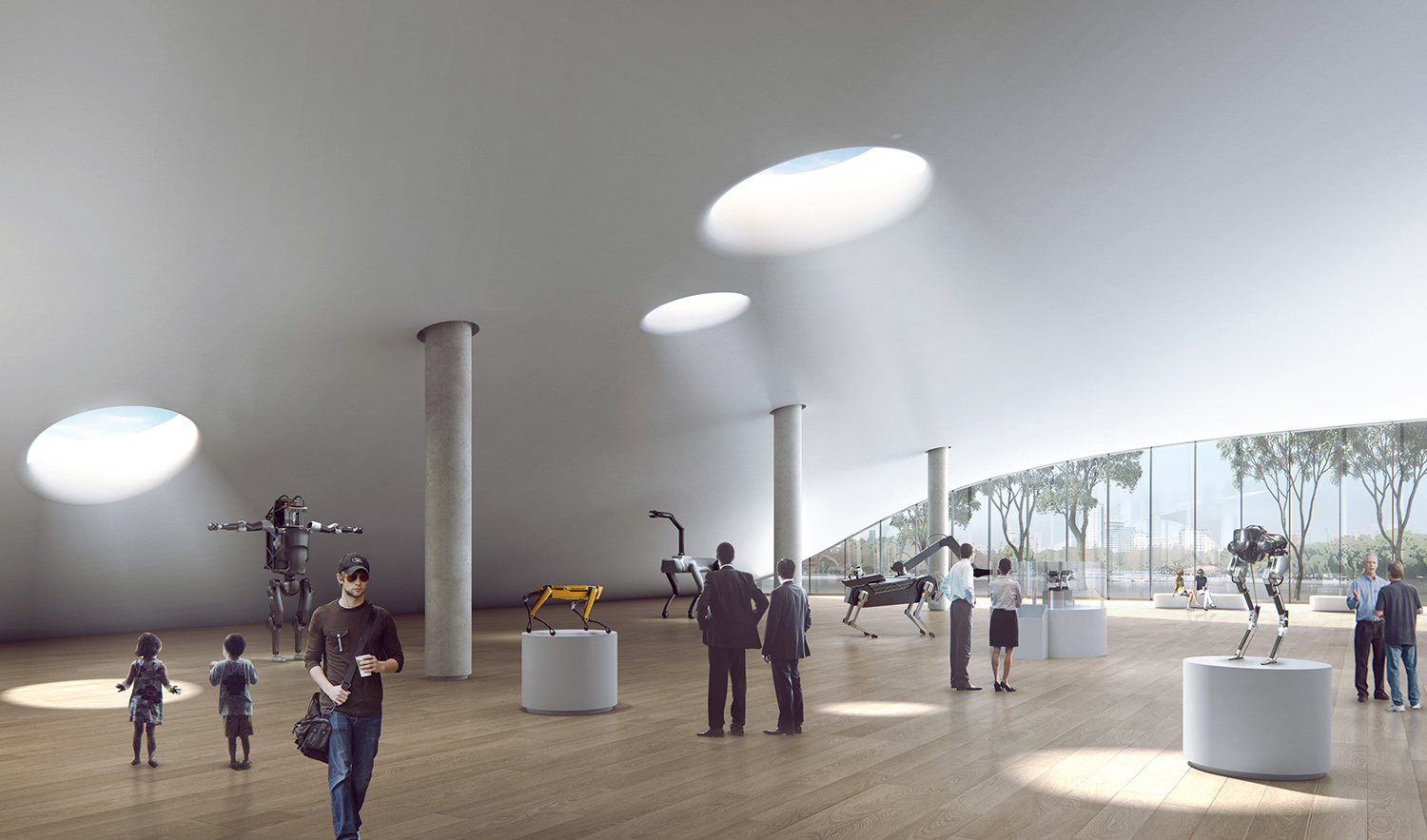 Exhibition hall Atelier Ping Jiang / EID Arch