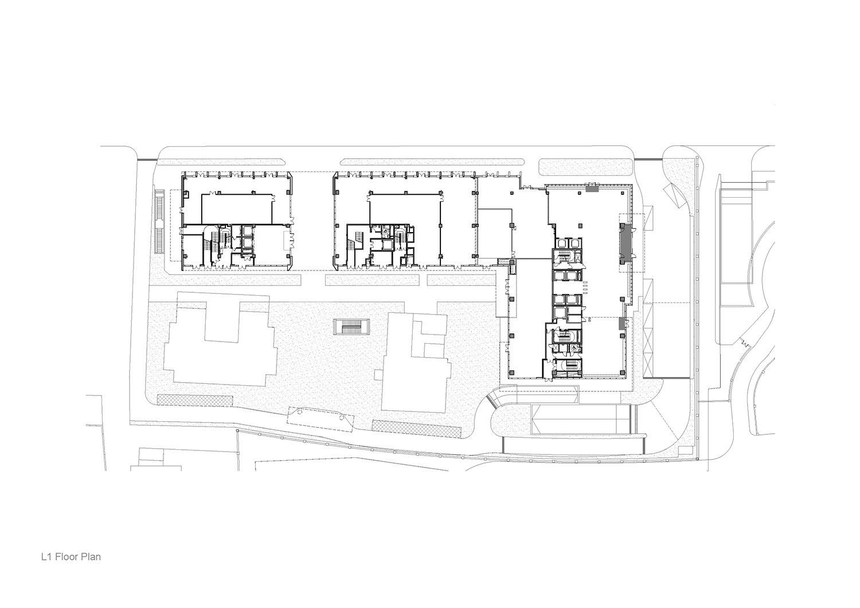 L1 Floor Plan Atelier Ping Jiang / EID Arch}
