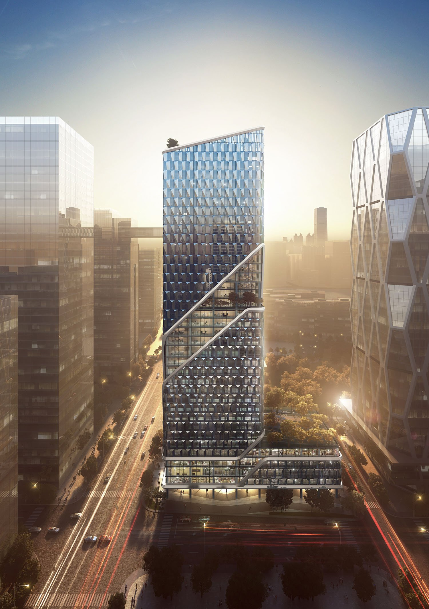 Sunset Renderings GWP Architects