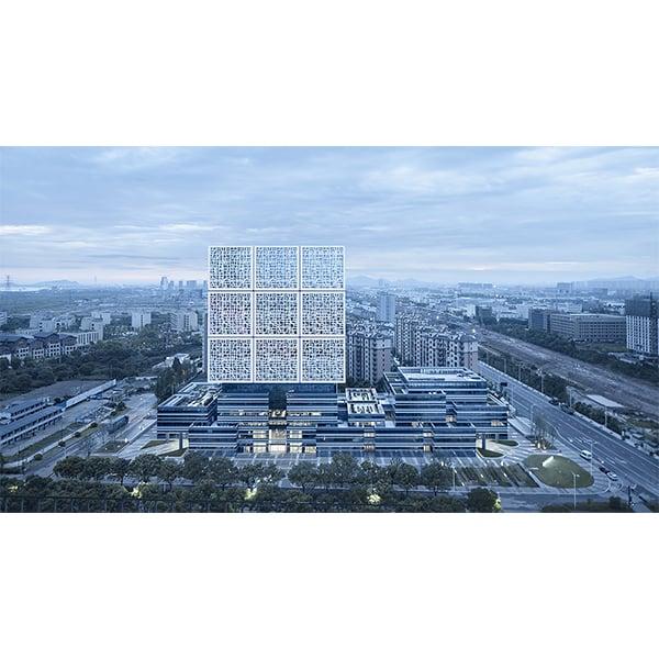 Building facade Zhao Qiang
