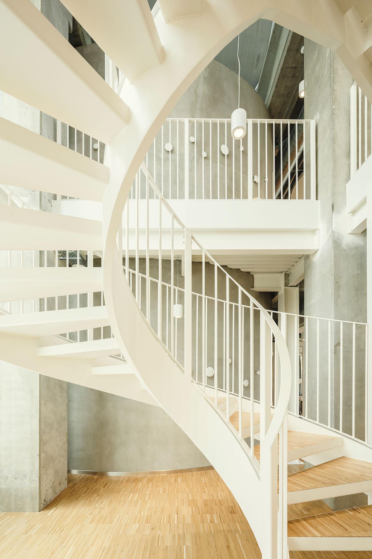 Staircase detail. Luca Rotondo}
