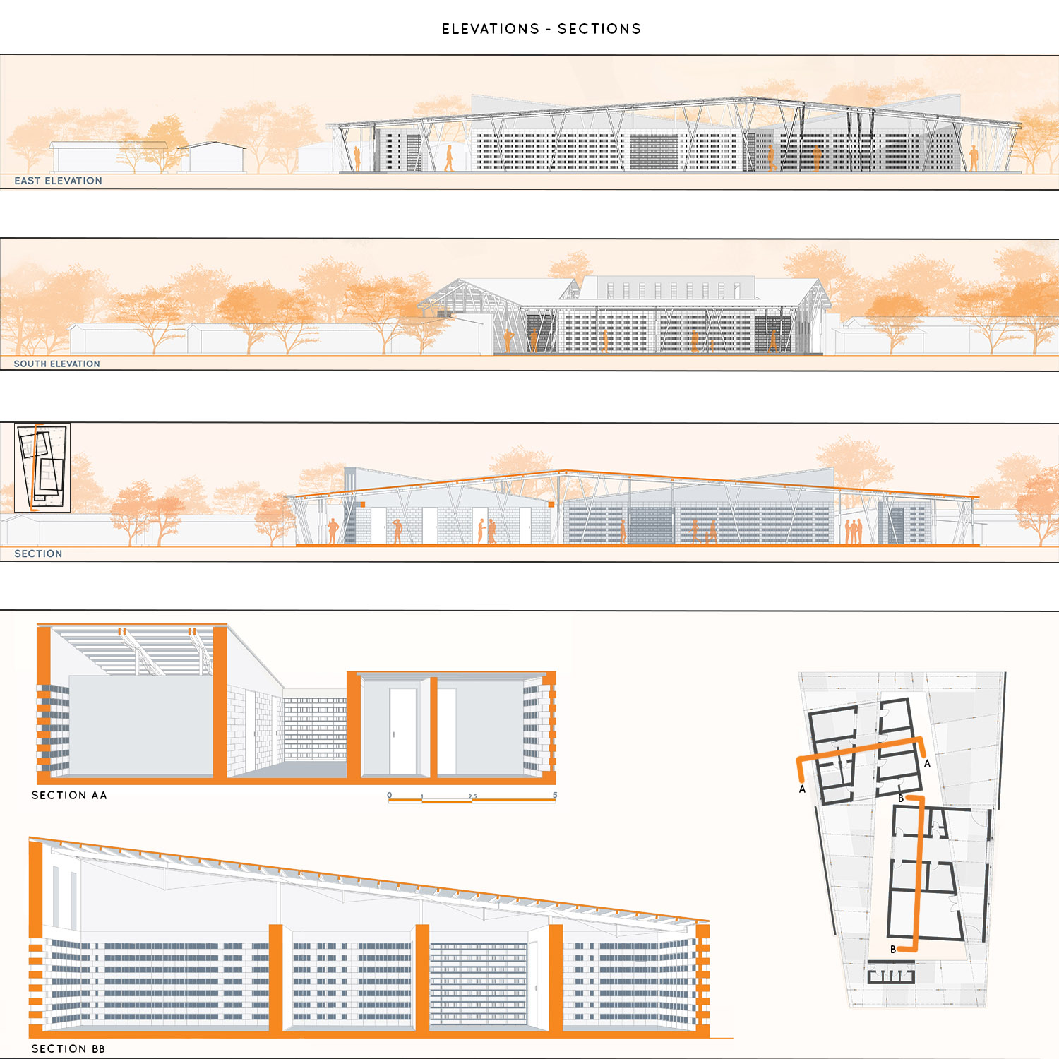 ELEVATIONS AND SECTIONS Maryam Di Mauro