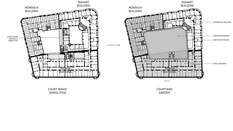 Demolition work Lissoni & Partners}