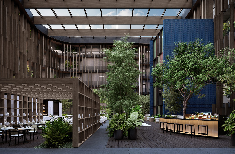 Courtyard Lissoni & Partners