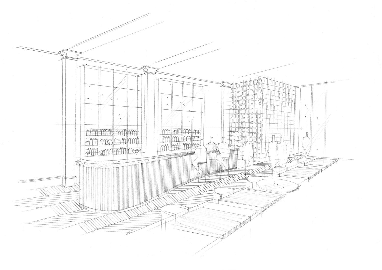 Bar Sketch Lissoni & Partners}