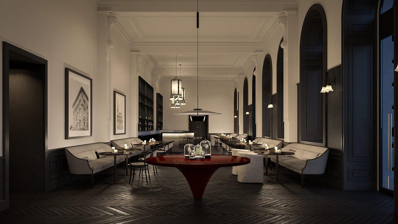 Bar and Restaurant Lissoni & Partners