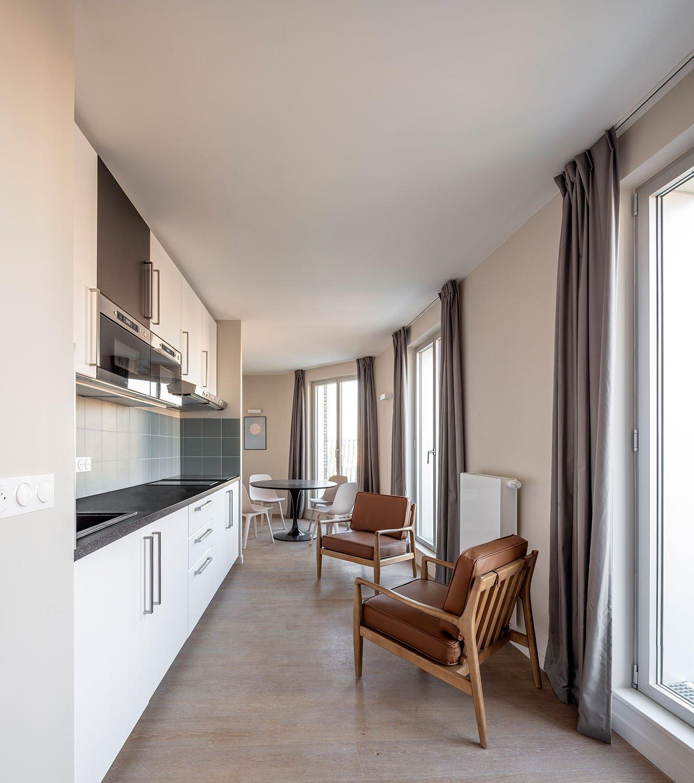 A collective appartment Luc Boegly