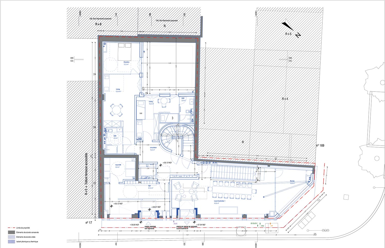 Ground floor plan CoBe}