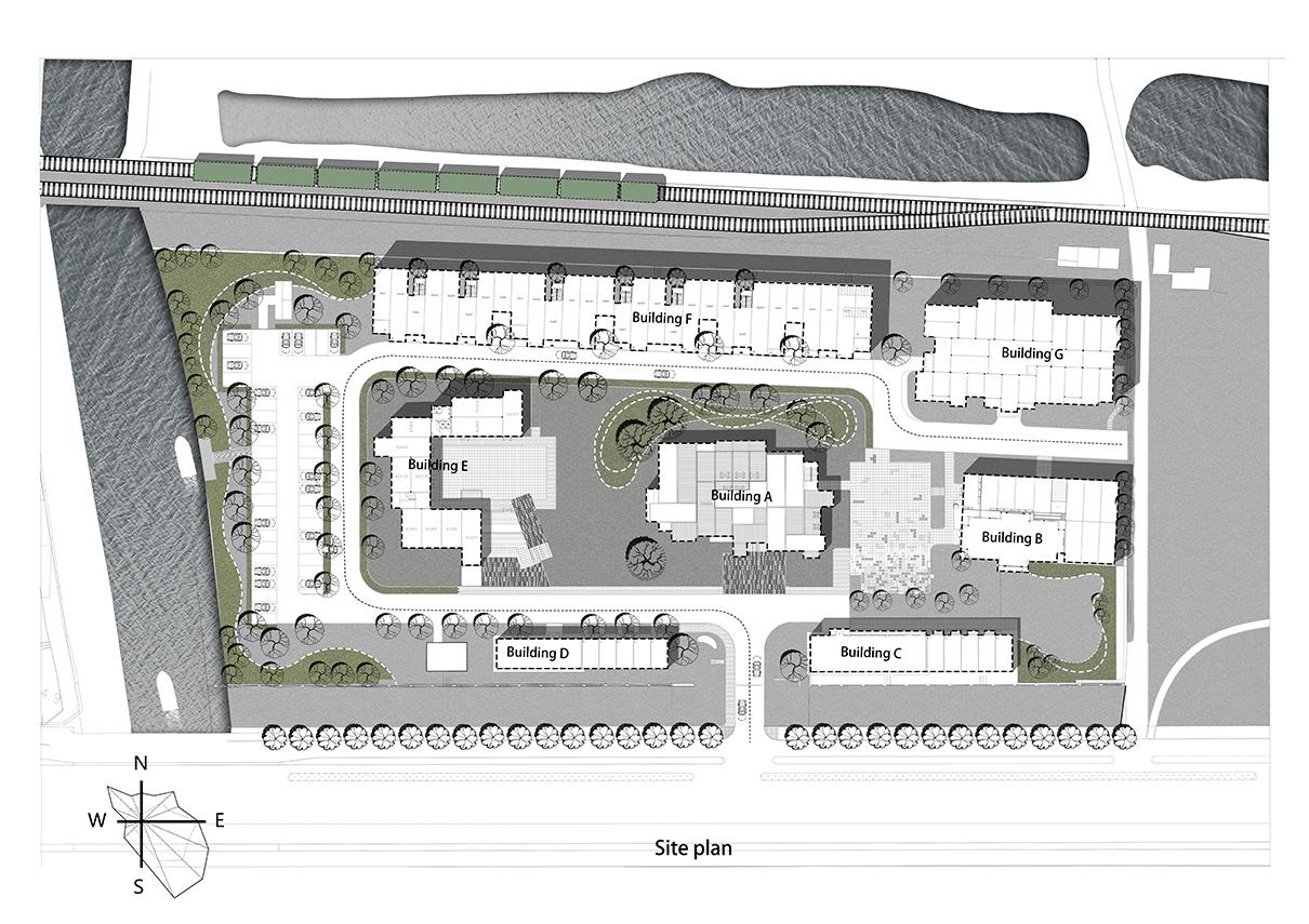 IM600 campus Plan Zhuowei Wang}