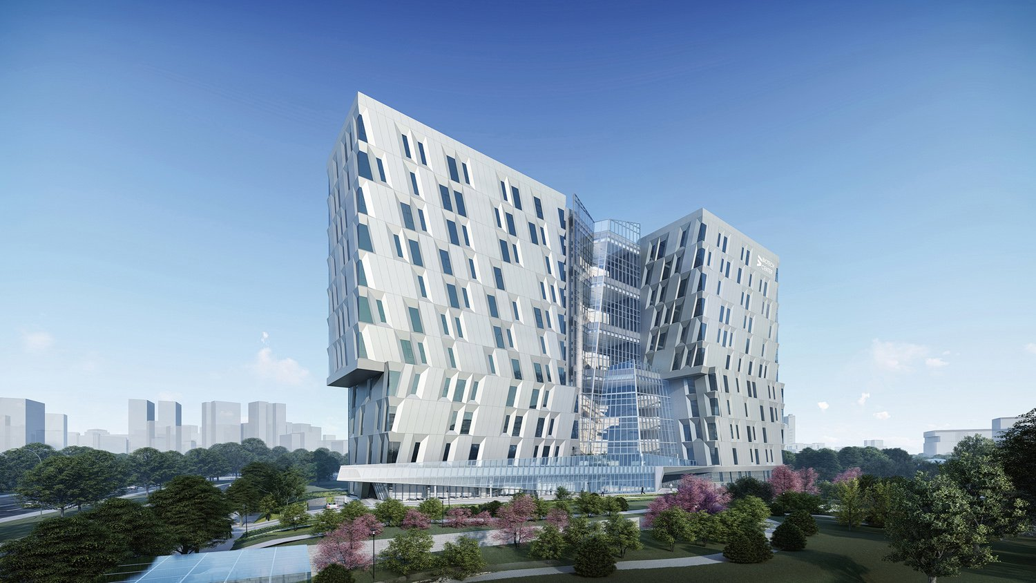 the center acts as a beacon for the entire science park JJP