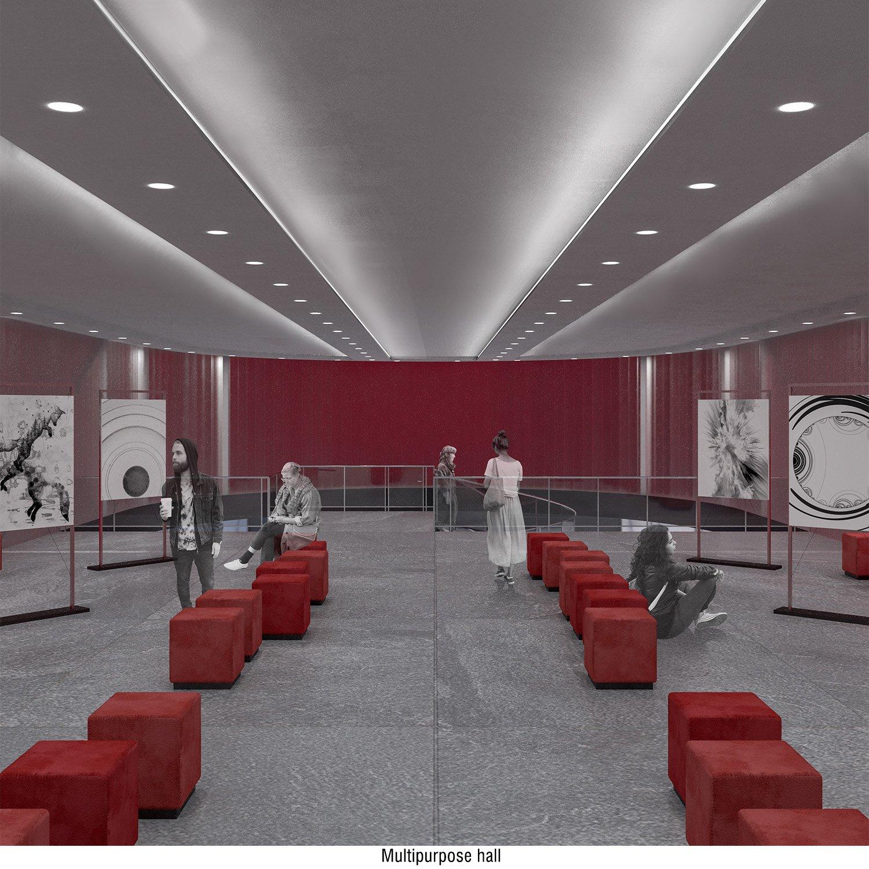 Multipurpose hall view Andrea Zattini