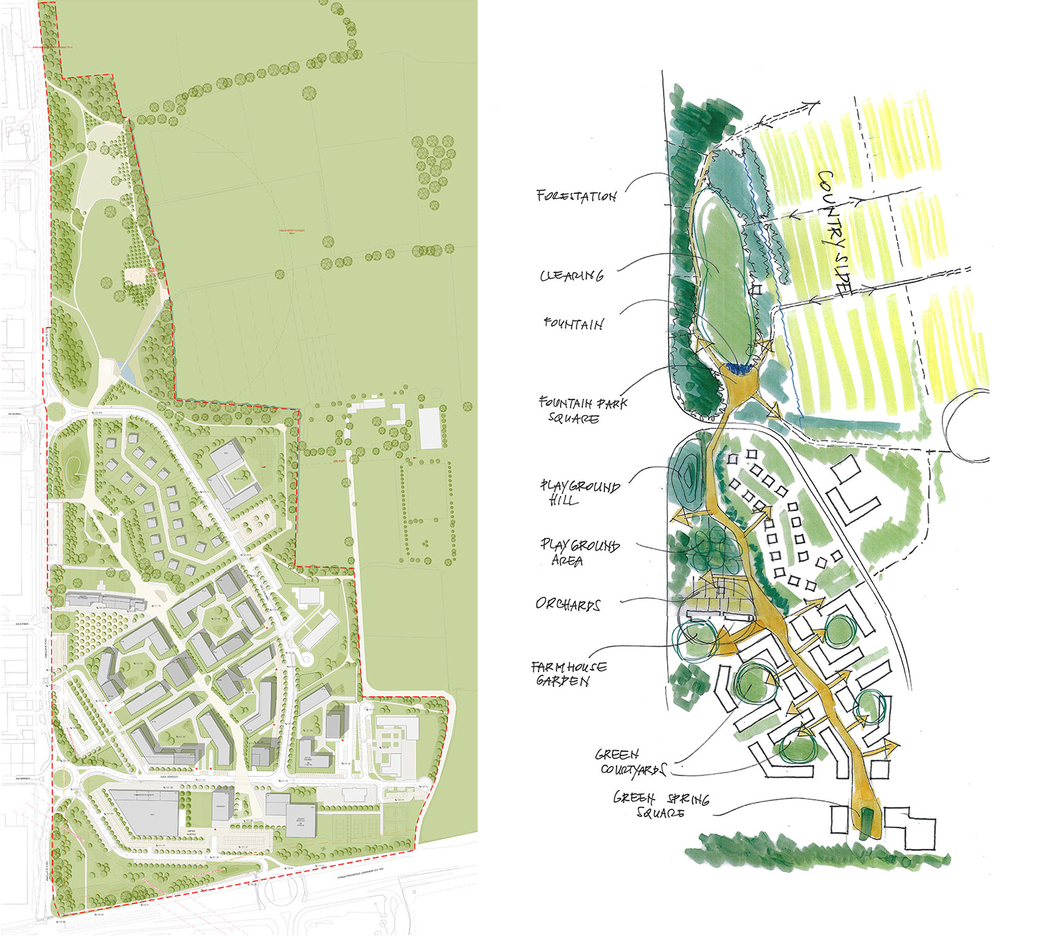 General Plan MAB arquitectura + Ag&p greenscape}