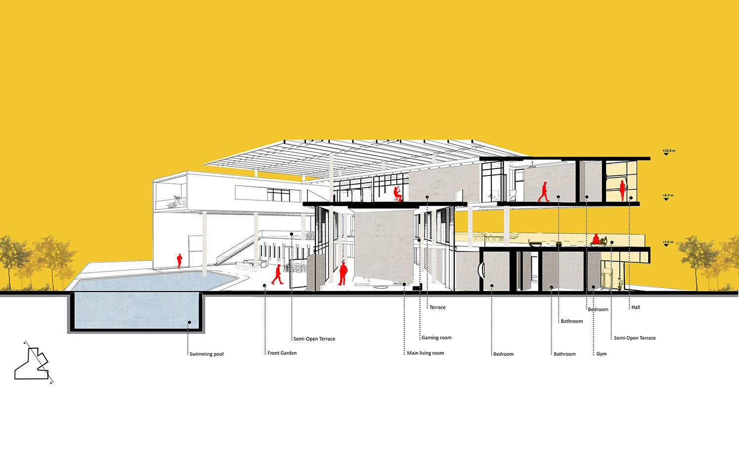 section perspective diagram Wall Corporation}