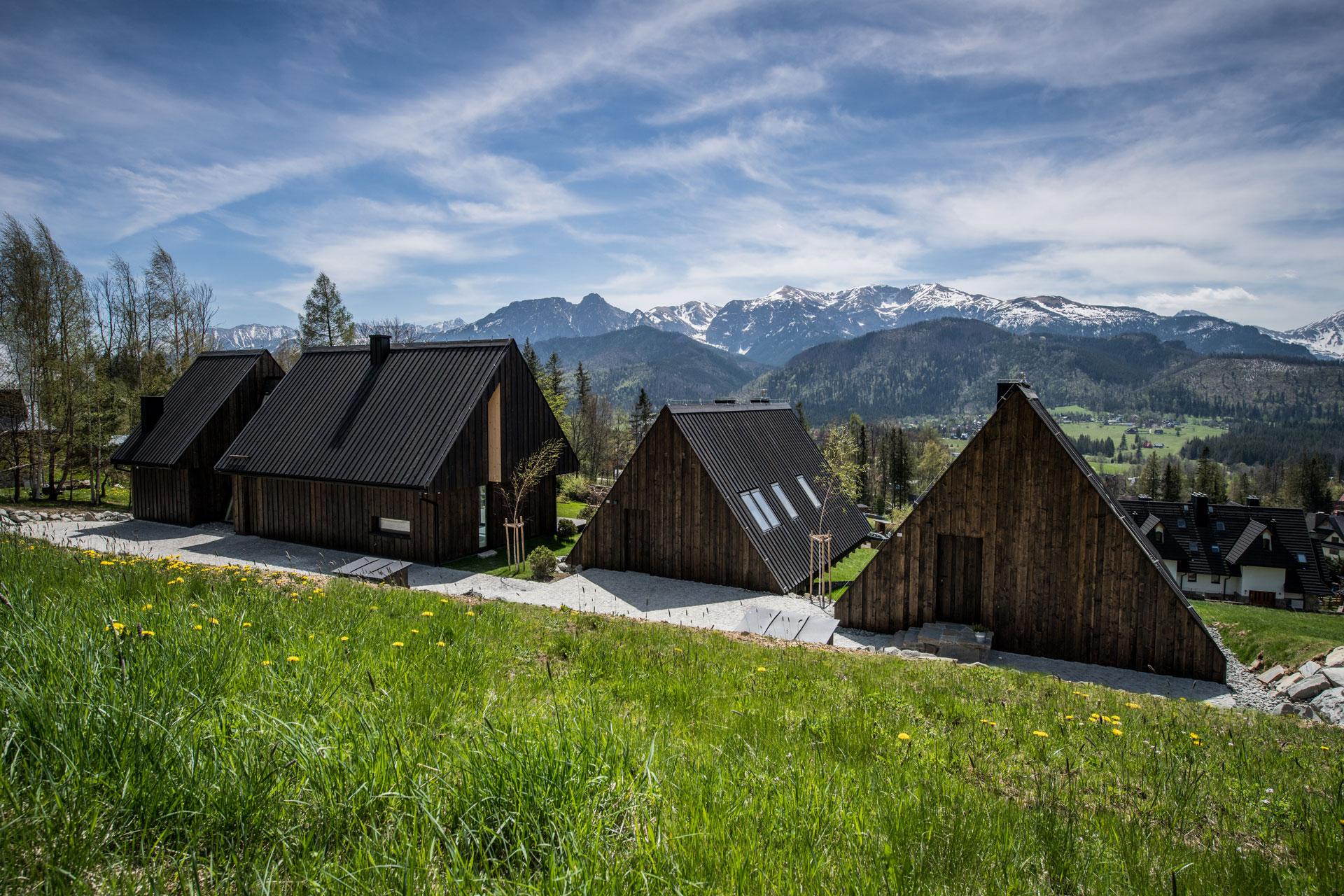 The Boats, cottage in legno che si affacciano sui monti Tatra