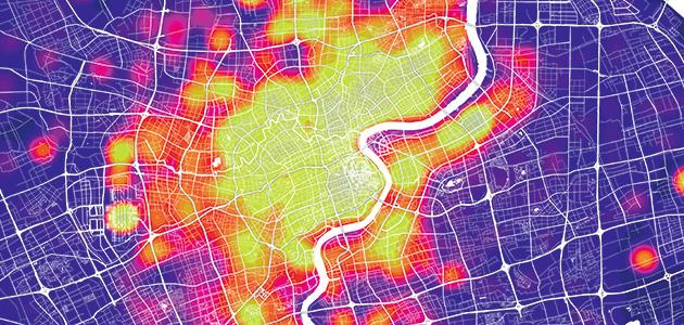 Shanghai Mapping - Una città molto più pianificata  a dispetto di ogni pregiudizio
