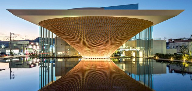 Edificio museale Mt. Fuji World  Heritage Centre